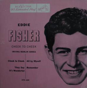 Cover - Eddie Fisher: Cheek To Cheek