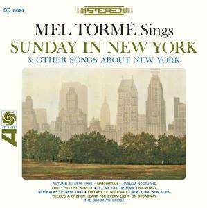 Cover - Mel Tormé: Sunday In New York & Othersongs About New York