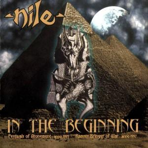 Nile: In The Beginning - Cover