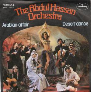 The Abdul Hassan Orchestra: Arabian Affair - Cover