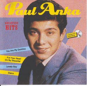 Paul Anka: Greatest Hits (Allround Trading) - Cover