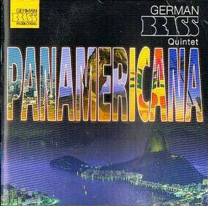 Cover - Enrique Crespo: German Brass Quintet: Panamericana