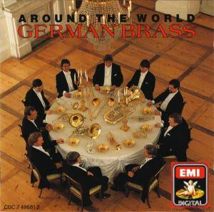 Cover - Enrique Crespo: German Brass: Around The World