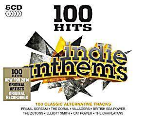 Cover - Hoosiers, The: 100 Hits Indie Anthems