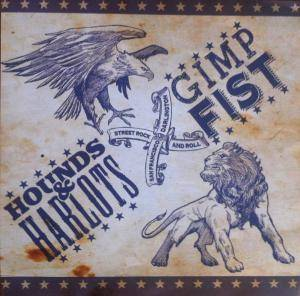 Cover - Gimp Fist: Hounds & Harlots/ Gimp Fist - Split EP