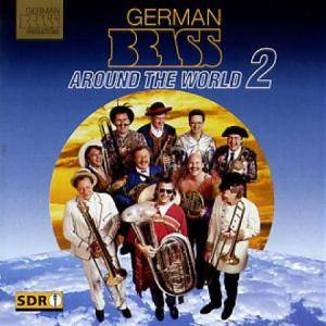 Cover - Enrique Crespo: German Brass: Around The World 2