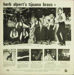 Herb Alpert & The Tijuana Brass: Volume 2 (LP) - Bild 2