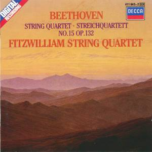 Ludwig van Beethoven: Streichquartett Nr. 15 A-Moll Op. 132 - Cover