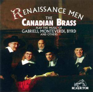 Cover - Anthony Holborne: Canadian Brass: Renaissance Men, The