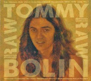 Cover - Tommy Bolin: Captured Raw - Jams Volume 1
