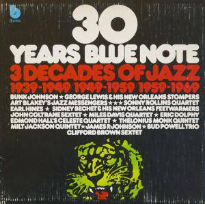 Cover - Ike Quebec: 30 Years Blue Note/3 Decades Of Jazz