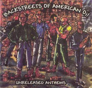 Cover - Sons Of Pride: Backstreets Of American Oi! Unreleased Anthems