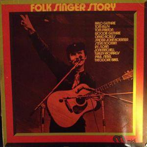 Cover - Theodore Bikel: Folk Singer Story