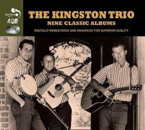 Cover - Kingston Trio, The: 9 Classic Albums
