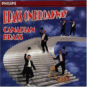 Cover - Richard Rodgers: Canadian Brass: Brass On Broadway