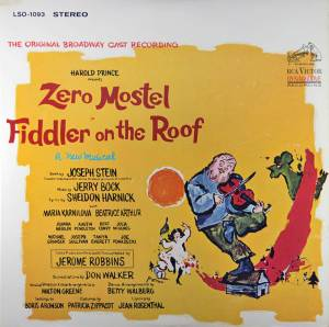 Jerry Bock: Fiddler On The Roof - Cover