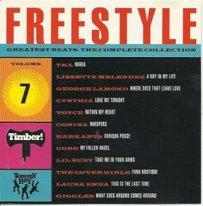 Freestyle Greatest Beats - The Complete Collection Vol 07 - Cover