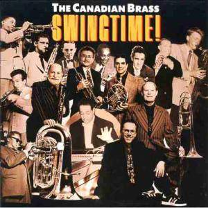 Cover - George & Ira Gershwin: Canadian Brass: Swingtime!, The