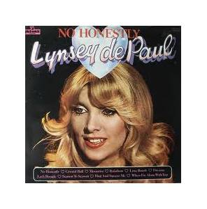 Cover - Lynsey de Paul: No Honestly