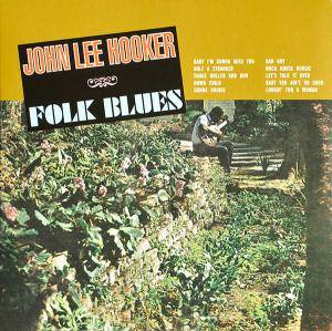 Cover - John Lee Hooker: Folk Blues