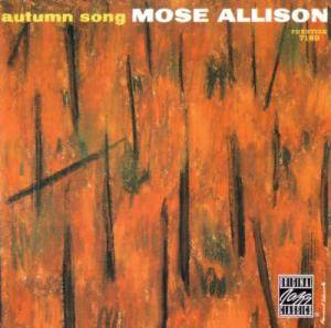 Cover - Mose Allison: Autumn Song