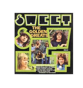 The Sweet: Golden Greats, The - Cover