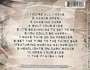 Snow Patrol: Eyes Open (CD) - Bild 2