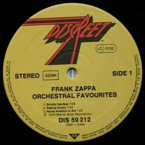 Frank Zappa: Orchestral Favorites (LP) - Bild 3