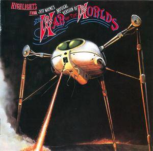 Jeff Wayne: Highlights From The War Of The Worlds - Cover