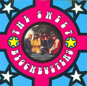The Sweet: Blockbusters - Cover