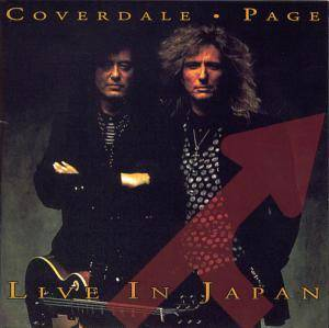 Cover - Coverdale • Page: Live In Japan