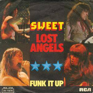The Sweet: Lost Angels - Cover