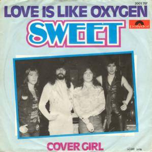 "The Sweet: Love Is Like Oxygen (7"") - Bild 1"