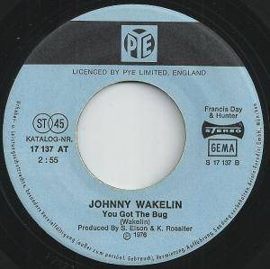 "Johnny Wakelin: In Zaire (7"") - Bild 3"