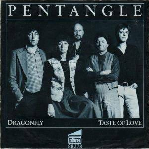 Pentangle: Dragonfly - Cover