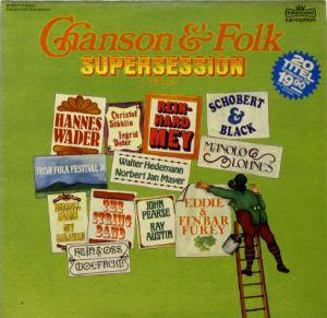 Chanson & Folk Supersession Volume 1 - Cover