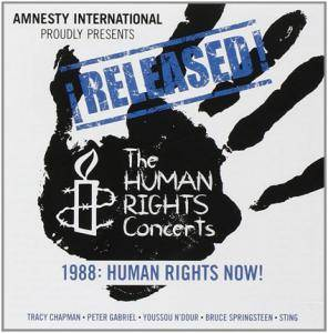 Cover - Bruce Springsteen & The E Street Band: Released The Human Rights Concert 1988: Human Rights Now