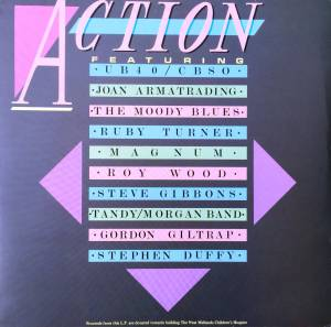 Cover - Stephen Duffy: Action