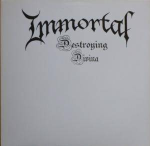 Immortal: Destroying Divina - Cover