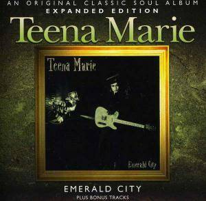 Cover - Teena Marie: Emerald City
