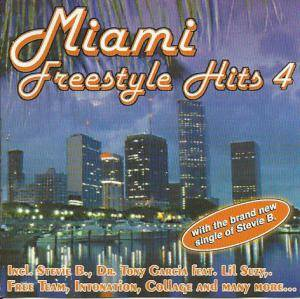 Cover - Mystery P.: Miami Freestyle Hits Vol 4