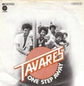 Tavares: One Step Away - Cover