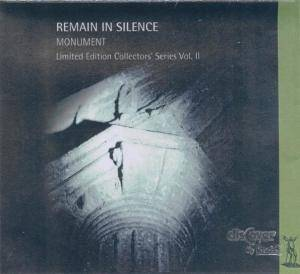 Remain In Silence: Monument - Cover