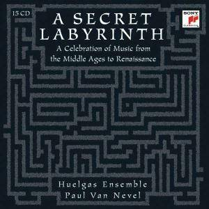 Paul Van Nevel: A Secret Labyrinth - A Celebration Of Music From The Middle Ages To Renaissance - Cover