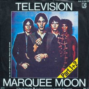 Cover - Television: Marquee Moon Part I