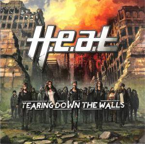H.E.A.T: Tearing Down The Walls - Cover