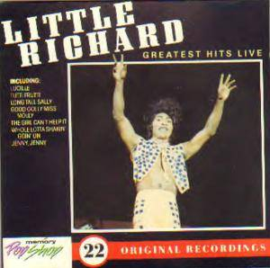 Cover - Little Richard: Greatest Hits Live