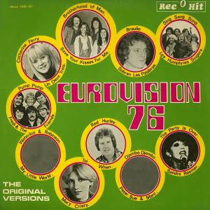 Cover - Catherine Ferry: Eurovision 76 - Eurovision Song Contest 1976