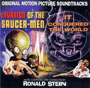 Cover - Ronald Stein: Invasion Of The Saucer-Men / It Conquered The World