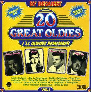Cover - Gene McDaniels: 20 Great Oldies I'll Always Remember Vol 1